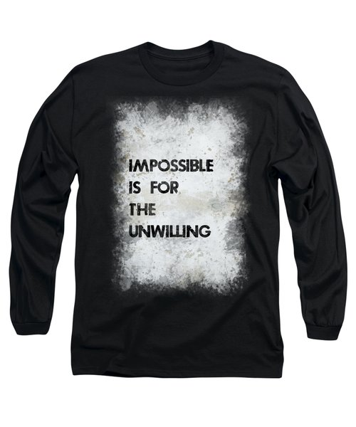 Impossible Long Sleeve T-Shirt