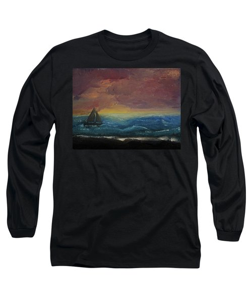 Impressions Of The Sea Long Sleeve T-Shirt
