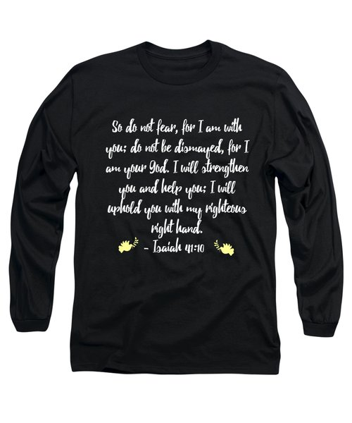 Isaiah 4110 Bible Long Sleeve T-Shirt