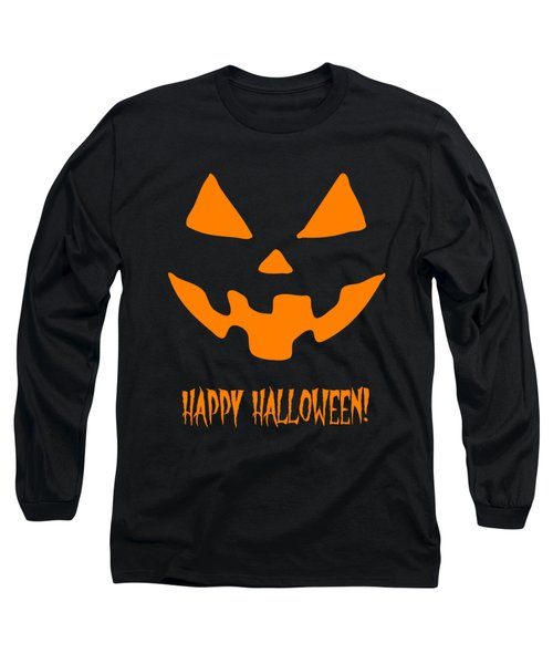 Jackolantern Happy Halloween Pumpkin Long Sleeve T-Shirt