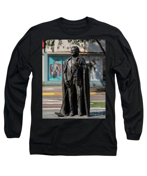 James Brown Statue - Augusta Ga 2 Long Sleeve T-Shirt