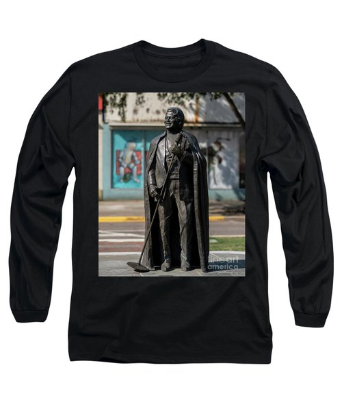 James Brown Statue - Augusta Ga 2 Long Sleeve T-Shirt