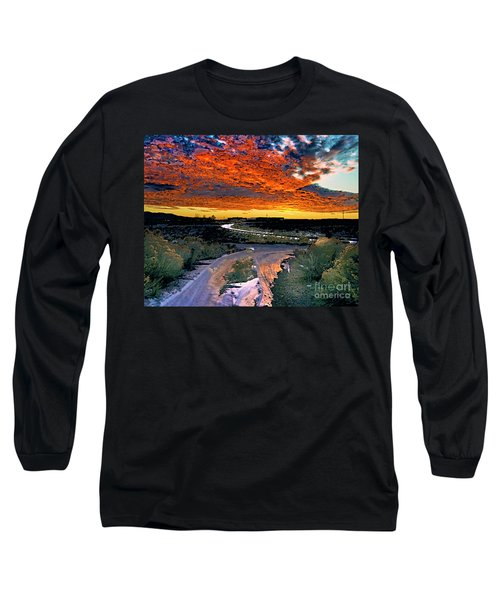 January Sunset Long Sleeve T-Shirt