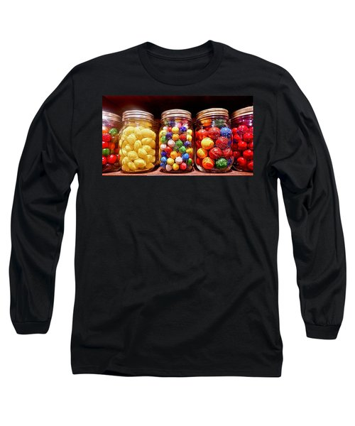 Long Sleeve T-Shirt featuring the photograph Jaw Breakers by Joan Reese