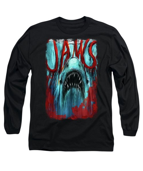 Jaws Out For Blood Long Sleeve T-Shirt