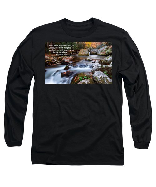 Jeremiah 29 And 11 Long Sleeve T-Shirt