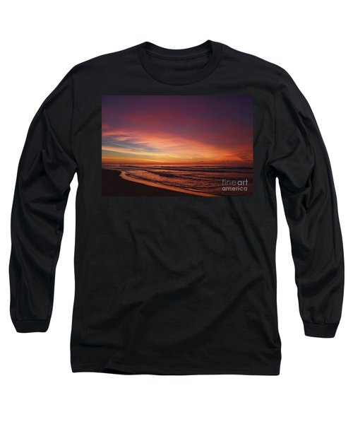 Jersey Shore Sunrise Long Sleeve T-Shirt