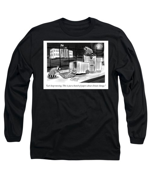 Just A Bunch Of Papers Long Sleeve T-Shirt