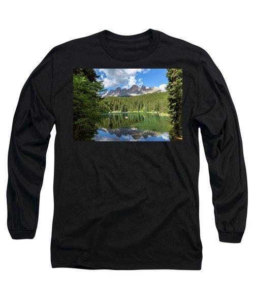 Karersee And Rosengarten Group Long Sleeve T-Shirt