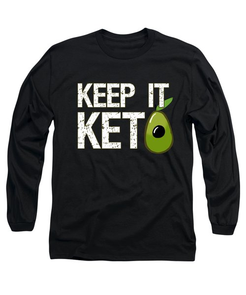 Keep It Keto Long Sleeve T-Shirt