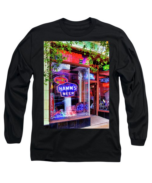 King Of Neon Logan Square Bucktown Long Sleeve T-Shirt