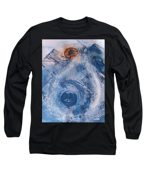 Long Sleeve T-Shirt featuring the painting  La Donna Del Lago by 'REA' Gallery