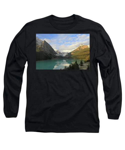 Lake Louise At Dawn Long Sleeve T-Shirt