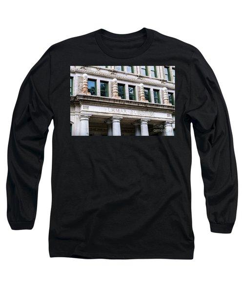 Lamar Building - Augusta Ga Long Sleeve T-Shirt