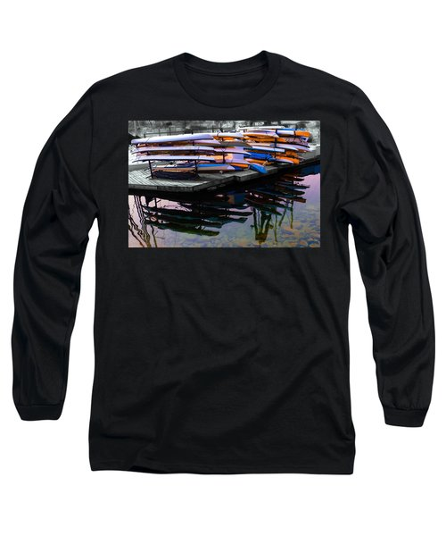 Layers And Layers By The Water Long Sleeve T-Shirt