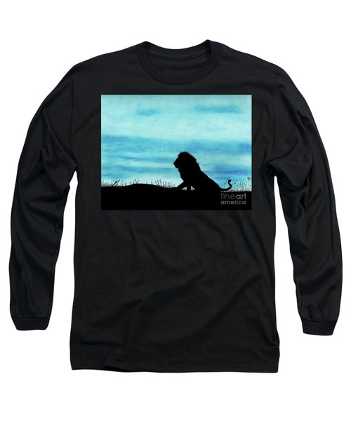 Leo At Sunset Long Sleeve T-Shirt