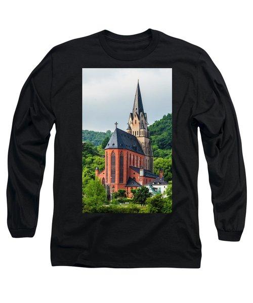 Liebfrauenkirche Oberwesel Long Sleeve T-Shirt