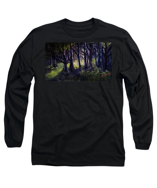 Light In The Forrest Long Sleeve T-Shirt