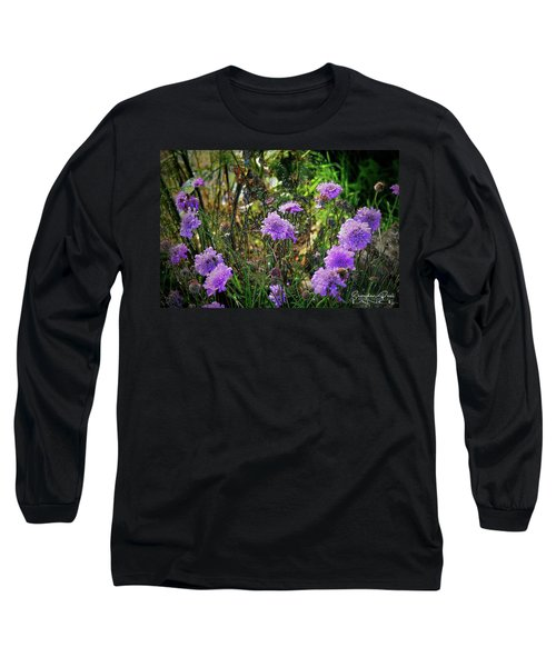 Lilac Jelly Pincushion Long Sleeve T-Shirt