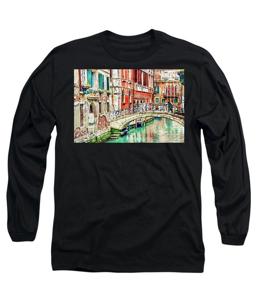 Lost In Venice Long Sleeve T-Shirt
