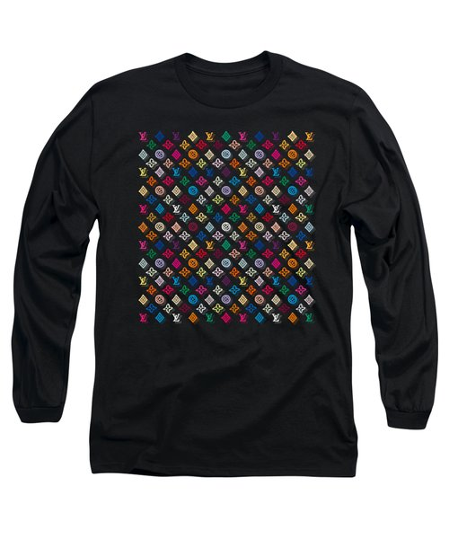 Louis Vuitton Monogram-4 Long Sleeve T-Shirt