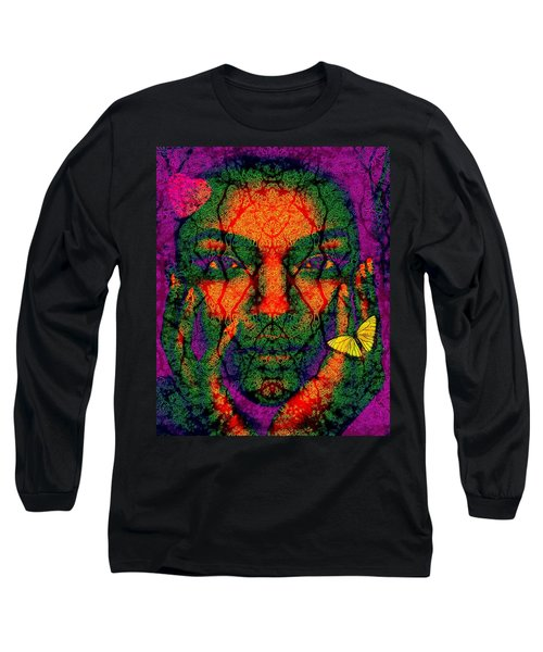 Long Sleeve T-Shirt featuring the digital art Love Struck by Bliss Of Art