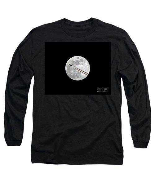 Lunar Photobomb Long Sleeve T-Shirt