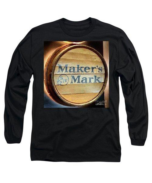Makers Mark Barrel Long Sleeve T-Shirt