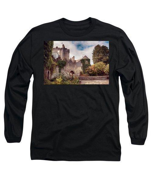 Malahide Castle By Autumn  Long Sleeve T-Shirt