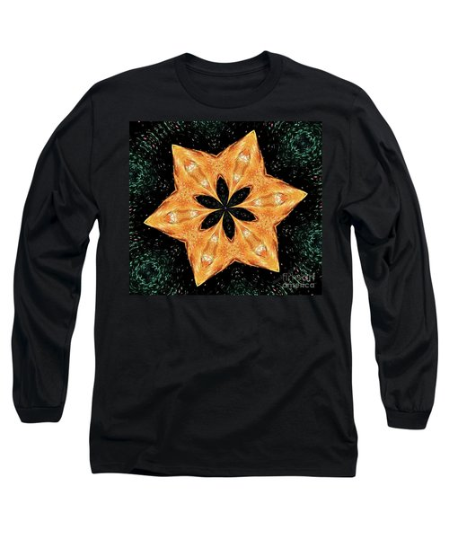 Mallard Head Mandala Long Sleeve T-Shirt
