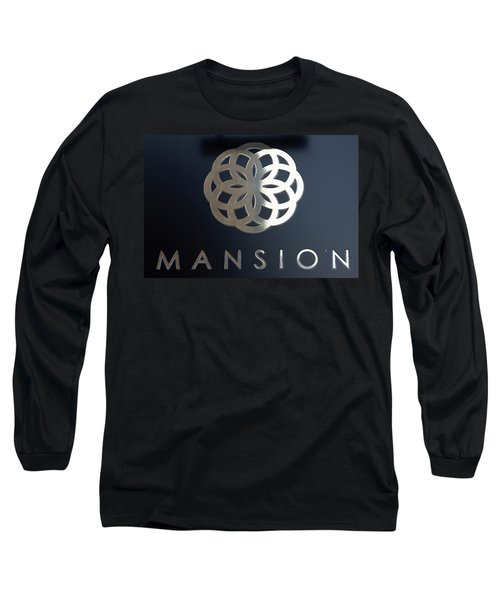 Colours. Mansion Black Long Sleeve T-Shirt