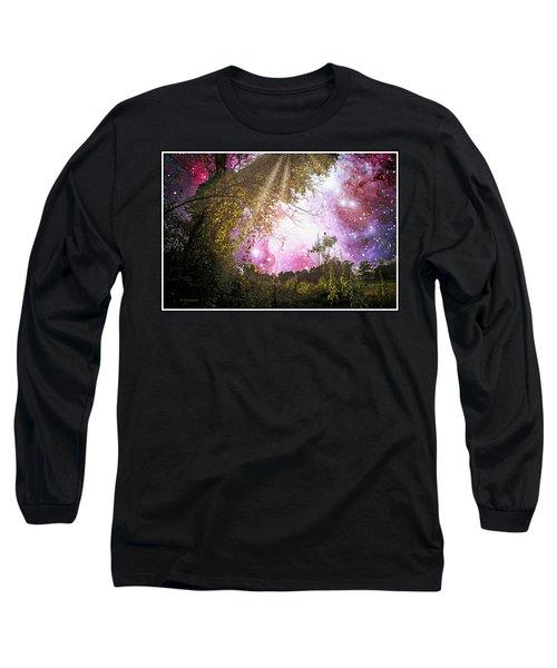Meadow Starry Night Long Sleeve T-Shirt