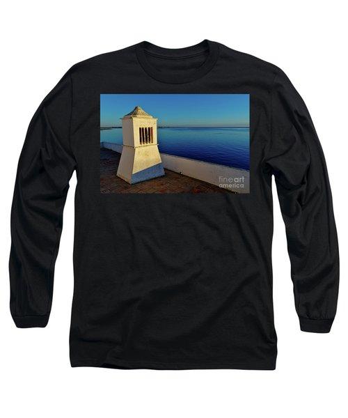 Mediterranean Chimney II. Portugal Long Sleeve T-Shirt