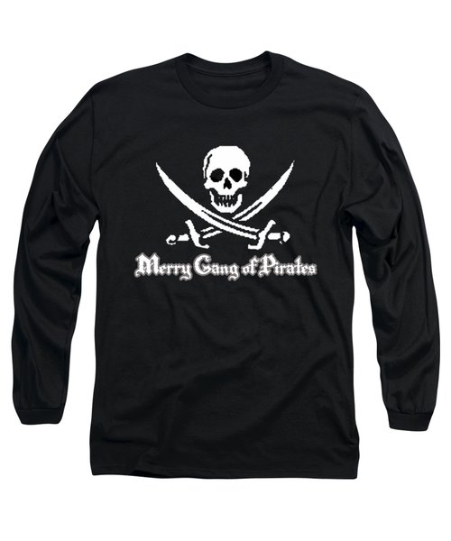 Merry Gang Of Pirates Long Sleeve T-Shirt