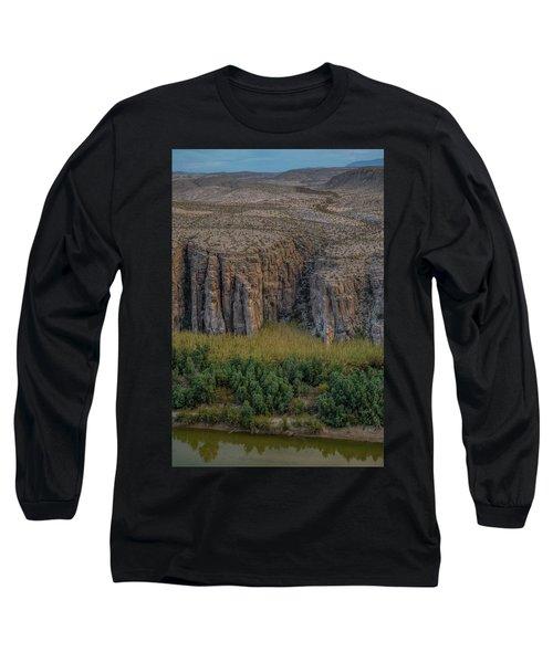 Mexican Box Canyon Long Sleeve T-Shirt