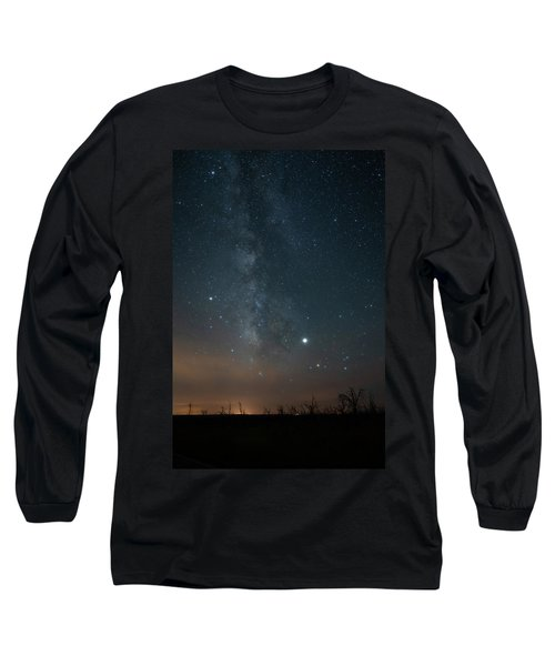 Milky Mesa Long Sleeve T-Shirt