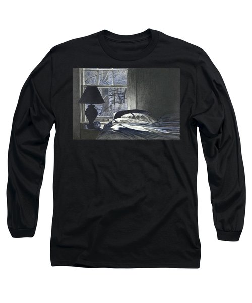 Moon Light On Our Bed Long Sleeve T-Shirt