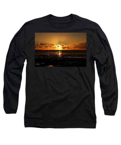 Morecambe Bay Sunset. Long Sleeve T-Shirt