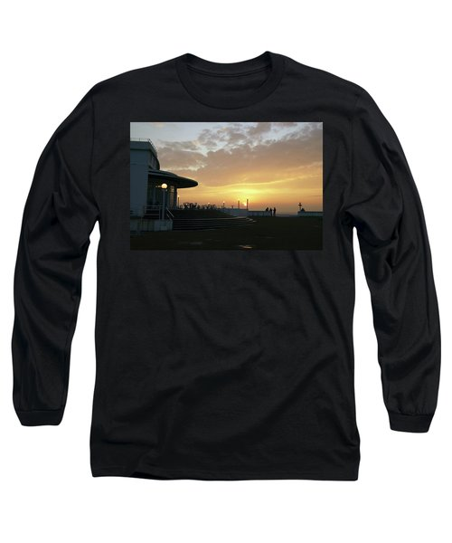 Morecambe. Evening On The Bay Long Sleeve T-Shirt
