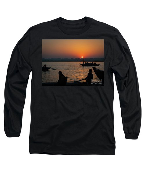 Mother Ganges Long Sleeve T-Shirt