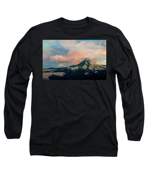 Mt Hood Long Sleeve T-Shirt