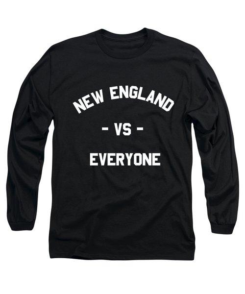 New England Vs Everyone Long Sleeve T-Shirt