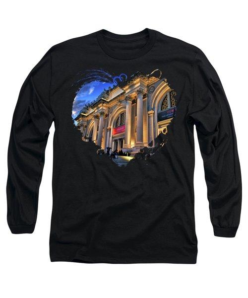 New York City Metropolitan Museum Of Art Long Sleeve T-Shirt