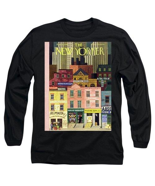 New Yorker April 6th 1946 Long Sleeve T-Shirt