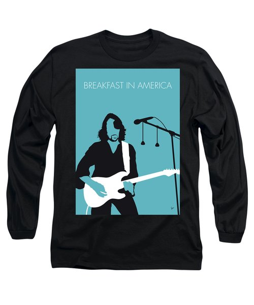 No215 My Supertramp Minimal Music Poster Long Sleeve T-Shirt