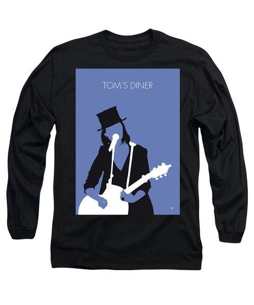 No298 My Suzanne Vega Minimal Music Poster Long Sleeve T-Shirt