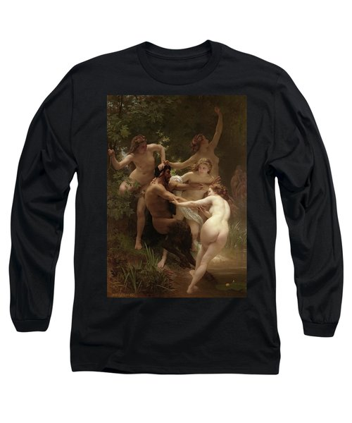 Nymphs And Satyr, 1873 Long Sleeve T-Shirt
