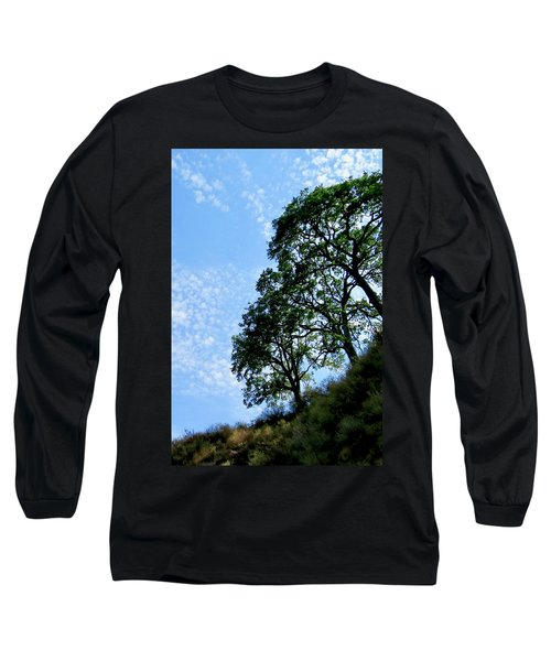 Oaks And Sky Long Sleeve T-Shirt