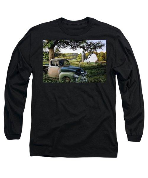 Old Farm Truck Long Sleeve T-Shirt