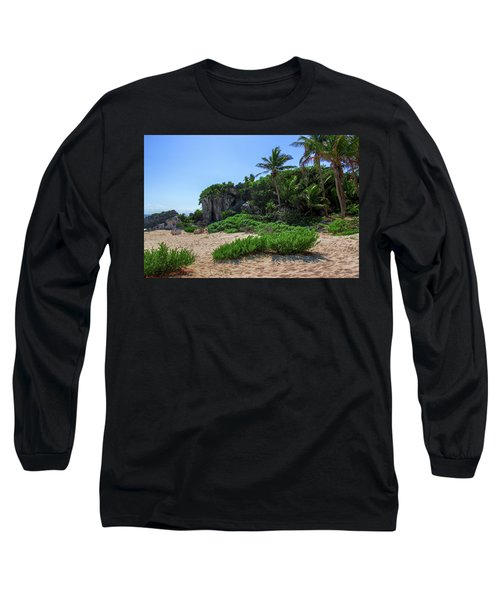 On The Coast Of Tulum Long Sleeve T-Shirt